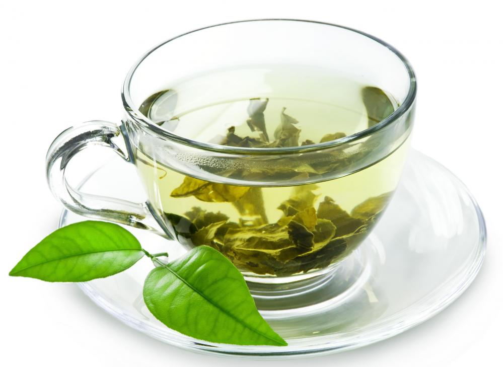 Green tea is made from the leaves from Camellia sinensis that have undergone minimal oxidation during processing.
