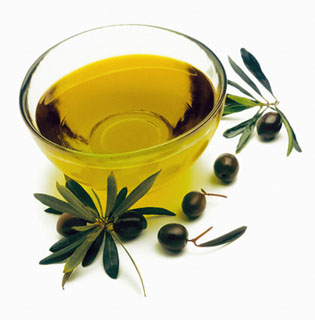 Bowl of Olive Oil
